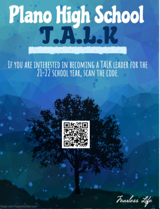 Information on PHS' T.A.L.K. team