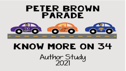 Let's Read-Peter Brown Author Study Starts Soon!!