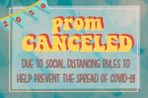 2020 Prom Canceled