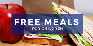 FREE Meals Continue Thru Summer!