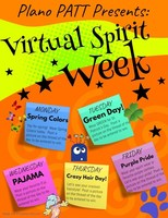 Join the PATT Virtual Spirit Week