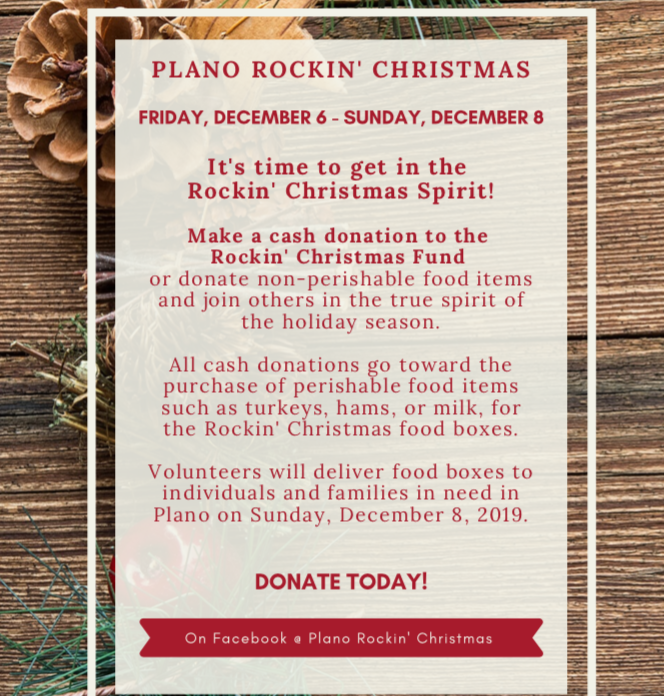 Plano Rockin' Christmas Flyer Part 2